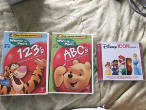 Children's DVDs and CD
