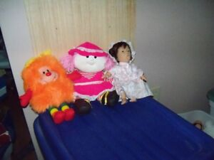 Dolls.....Miss Muffin, Sprite, Yawning Doll; Exc. Cond, etc.