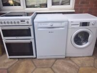 Cooker - Washing Machine - Dishwasher