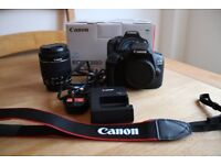 Canon 1300d digital camera. Unused and boxed