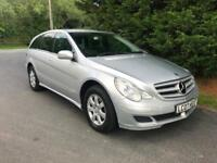 2007 MERCEDES R280 SE CDI 4-MATIC AUTOMATIC 4X4 6 SEATER TURBO DIESEL