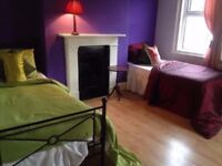 "Roomshare per week £110 """""""" zone 1-2 """""""""" short term"