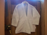 Blitz White judo martial arts jacket 10oz size 1 /140 cm