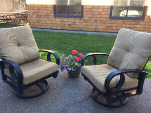 Swivel Rockers for your patio