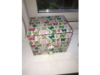 Beautiful butterfly jewellery box