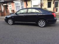 TOYOTA AVENSIS 2004 MANUAL BLACK 1.8 PETROL CHEAP QUICK SALE BARGAIN