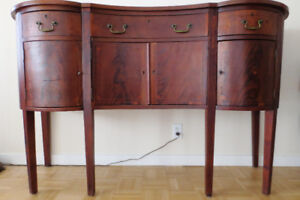 MOVING MUST SELL - Unique Antique Dining Room Sideboard Cabinet