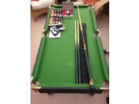 "4'6"" L Foot Snooker/Pool Table"