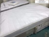 NEW. KING-SIZE Bed. Memory-Foam Mattress (with springs) & Silentnight 2 Drawer Divan Base.