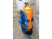 Diving cylinder 12 litres 232 Bar