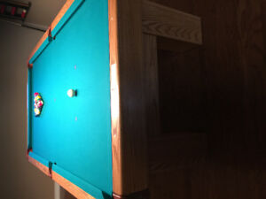 Pool table Must sell