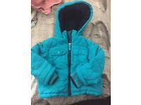 Ted Baker baby boys coat 9-12 months