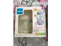 2 mam Bottles brand new