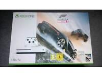 Xbox one 1tb bnib plus game