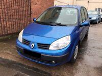 Renault Scenic 1.6 VVT Expression 5 door - 2004, 12 Months MOT, Decent Runner, PX TO CLEAR! £695