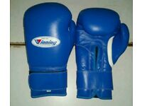 new wininng boxing gloves blue 16/oz