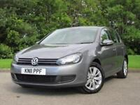 2011 Volkswagen Golf 1.6 TDI Match Hatchback 5dr Diesel Manual (119 g/km,