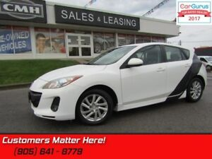 2012 Mazda Mazda3 GS-SKY  LEATHER, SUNROOF, GROUND EFFECTS!