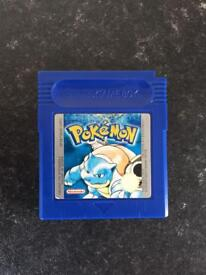 Pokemon blue version for Nintendo gameboy