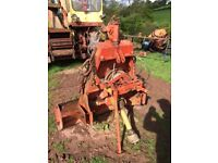 Fransgard 3.5 t pto winch. Fits on tractor 3 point linkage. New cable and 3 chains.