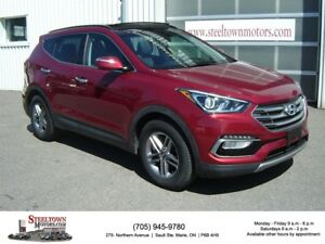 2017 Hyundai Santa Fe Sport H/Leather|Pano Roof|H/Steering Wheel