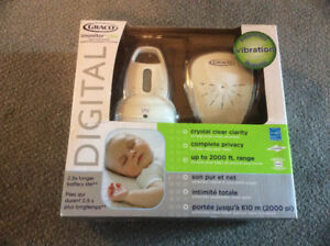 Graco digital baby monitor