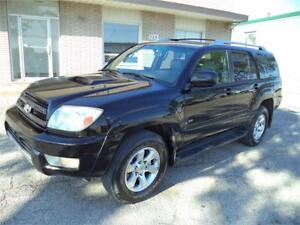 2004 Toyota 4Runner SR5 DVD ACCIDENT FREE FINANCING AVAILABLE
