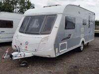 Swift Conqueror 530. Silver Sides. Side Dinette. 2008. Used Touring Caravan MTPLM 1632kg