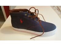 Polo Ralph Lauren Mens Trainers Brand New and Boxed Size 8