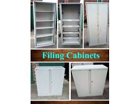 Large Filing Cabinets / Cupboards, Office Stationary Storage