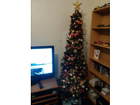 7 Foot Slim Chrstmas Tree