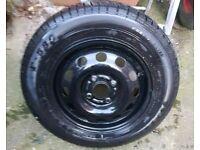 Nearly new firestone tyre