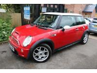 2003 (52 Plate) MINI Hatch 1.6I 16V COOPER S Red FSH Long MOT Leather Seats
