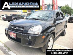 2007 Hyundai Tucson GLS 104km leather 4x4 V6