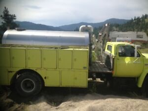 FIRE TRUCK WATER TRUCK