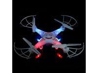 2.4G 4CH RC Quadcopter Drone With HD 2mp Camera. £35 or swap for chainsaw.