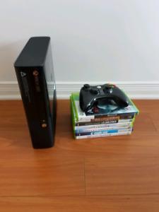 Xbox 360 de 500gb de memoire + 7 jeux