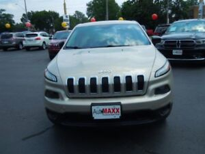 2014 JEEP CHEROKEE SPORT- BLUETOOTH, SPEED CONTROL, ALLOY WHEELS