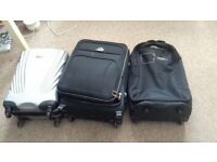 3 suitcases/luggage