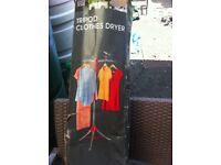 Camping portable clothes dryer