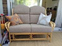 Cane conservatory furniture - excellent condition. Quick sale needed.