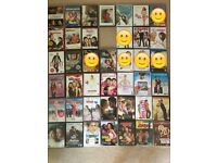 Various Chick Flick DVDs