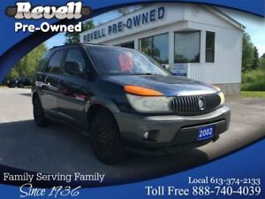 2002 Buick Rendezvous CX    * Well kept by previous owner