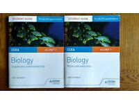 Biology CCEA AS unit 1 & 2 Student guides