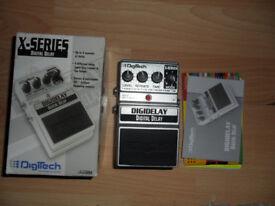 Digitech Digidelay Delay guitar effects pedal