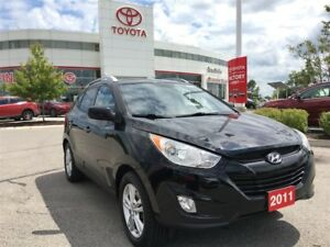 2011 Hyundai Tucson GLS - AWD, New Front Brakes, Leather!