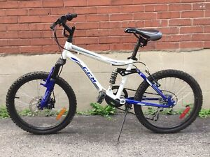 "CCM Assault 20"" Kids' Mountain Bike, fits 7 to 10 year old"