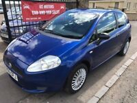 2006 FIAT PUNTO 1.2, 1 YEAR MOT, 78000, WARRANTY, NOT FIESTA CORSA POLO MICRA YARIS