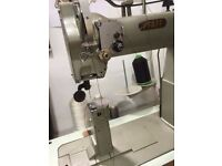 Pfaff Industrial Sewing Post Machine, ideal for shoes, leather and handbags