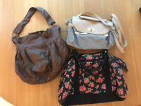 Three lovely bags, accessorize, H&M and primark